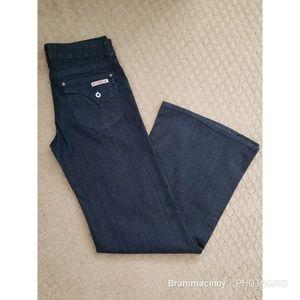 Hudson Extreme Flare Wide Leg Bell Bottom Jeans 29